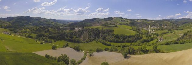 drone panoramica